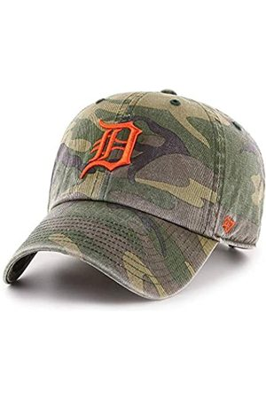 '47 Herren Caps - Detroit Tigers Clean Up Hat Cap Camo/ Garment Washed Vintage