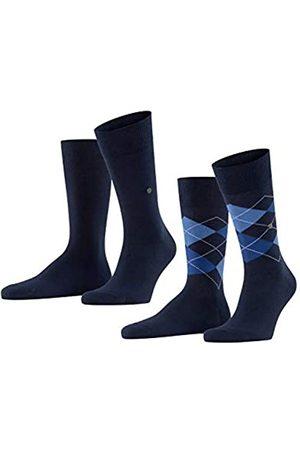 Burlington Herren Socken & Strümpfe - Herren Everyday Mix 2-Pack M SO Socken