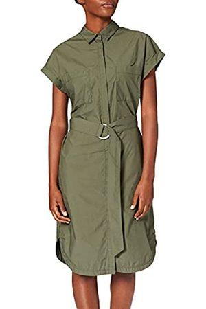 Camel Active Damen 3099245S64 Bluse, Dunkel Olive