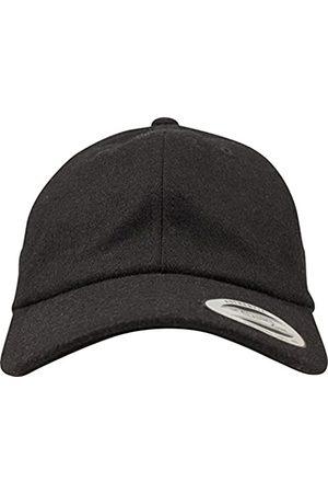 Flexfit Low Profile Melton Wool Dad Cap Unisex Kappe für Damen und Herren
