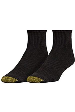 Gold Toe Herren Golf Soleution Quarter Socken, 2 Paar