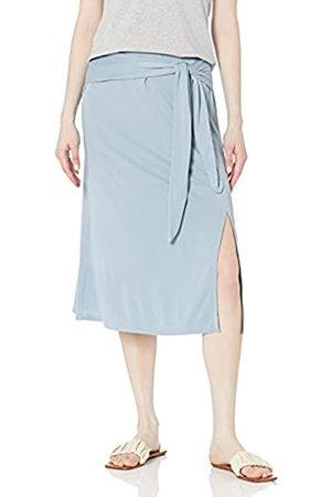 BCBG Max Azria Women's Side Slit Midi Skirt