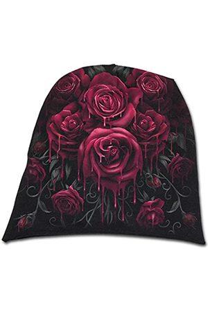 Spiral Herren Hüte - Unisex Blood Rose-Light Cotton Beanies Strickmütze