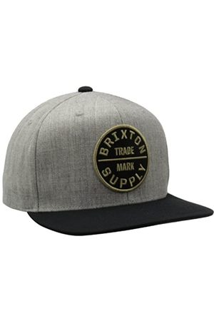 Brixton Herren Hüte - Herren Oath Iii Snapback-Hut mit mittlerem Profil