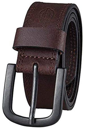 Dickies Herren Gürtel - Herren Jeansgürtel aus 100% Leder mit Stichmuster und Dornschließe - - Taille : 30