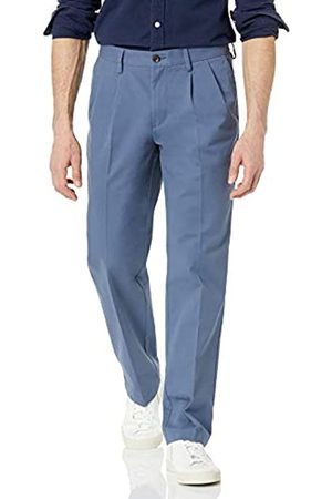Amazon Herren Chinos - Classic-Fit Wrinkle-Resistant Pleated Chino Pant Anzughose 35W / 34L