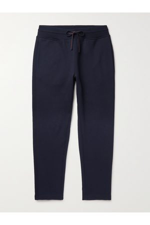 Loro Piana Herren Jogginghosen - Tapered Double-Faced Cotton, Silk and Cashmere-Blend Jersey Sweatpants