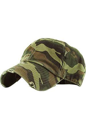 KBETHOS Vintage gewaschen Distressed Cotton Dad Hut Baseball Cap verstellbare Polo Trucker Unisex Style Headwear einstellbar