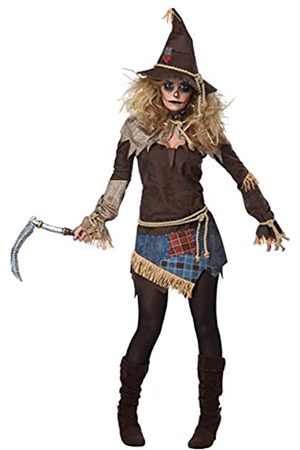 California Costumes Gruselige Vogelscheuche für Damen, Erwachsenenkostüm