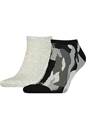 Levi's Unisex-Adult Camo Low Cut (2 Pack) Socks