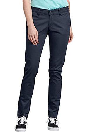 Dickies Damen Slim & Skinny Hosen - Damen Mid-Rise, Skinny Stretch Twill Pant Khakis