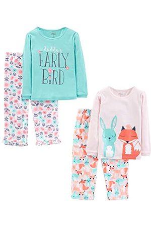 Simple Joys by Carter's Mädchen Schlafanzüge - 4-Piece pajama-sets, Daddy/Fox/Rabbit