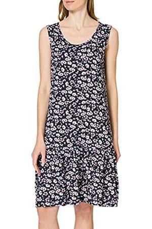 Blue Seven Damen Alloverdruck, Rundhals Kleid