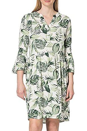 Timezone Damen Freizeitkleider - Damen Printed Boho Dress Lässiges Kleid