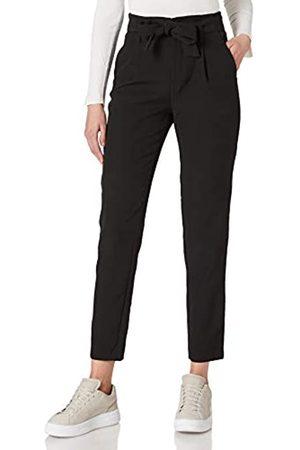 ONLY Damen ONLELLY Life HW Belt Pant TLR Hose, Black