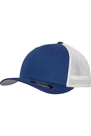 Flexfit Mesh Trucker Cap 2-Tone - Unisex Baseballcap für Damen und Herren, Farbe Royal/White