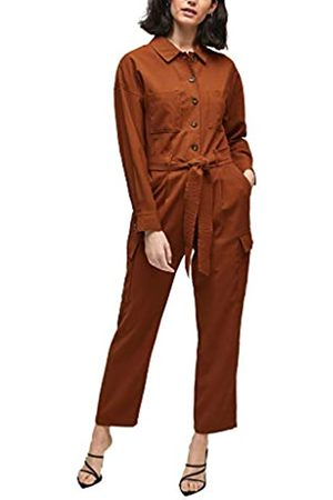 s.Oliver Damen Jumpsuits - Damen Cargo-Jumpsuit mit Gürtel 44