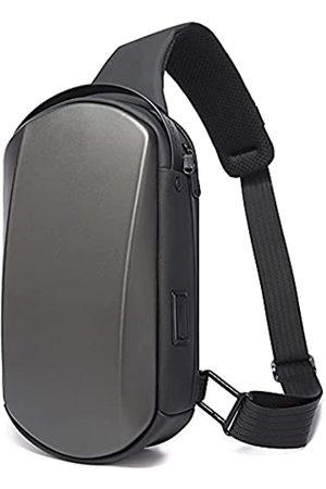 BanGe Schultertasche, wasserdicht, zum Wandern, Reisen, Schultertasche, sicherer Schutz, Hartschale