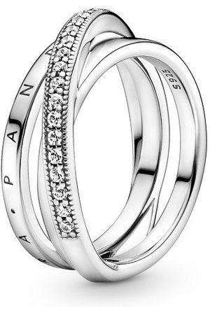 PANDORA Ring - Crossover Pavé - 199057C01