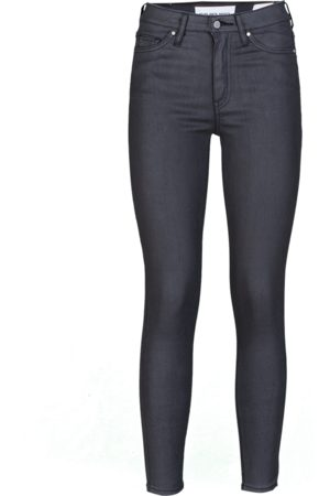 YOUNG POETS SOCIETY Damen High Waisted - Damen Jeans Ania high waist 86214 coated (black coated)