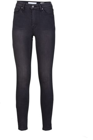 YOUNG POETS SOCIETY Damen High Waisted - Damen Jeans Ania high waist 51214 stone wash (vintage black)