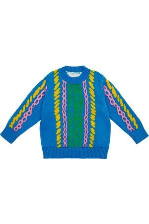 Stella McCartney Pullover Comic aus einem Baumwollgemisch