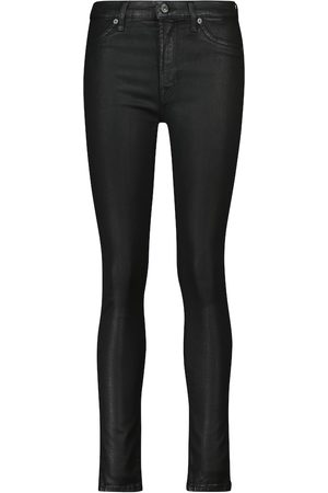 7 for all Mankind High-Rise Skinny Jeans Slim Illusion