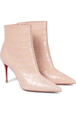 Christian Louboutin Ankle Boots aus Leder