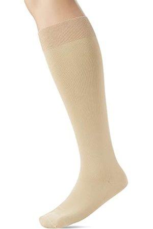 Falke Herren Socken & Strümpfe - Herren Kompression Kniestrümpfe Energizing Cotton, Baumwollmischung, 1 Paar, (Sand 4320)