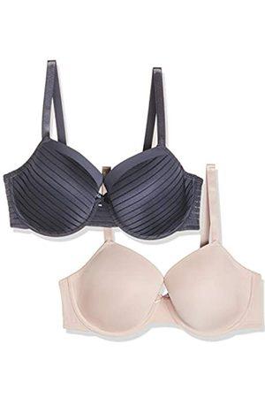 Dorina Damen BHs & Bustiers - Damen BH Louise T-Shirt Bra 2er Pack
