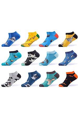 WeciBor Herren Socken & Strümpfe - Herren-Socken aus gekämmter Baumwolle - - Large