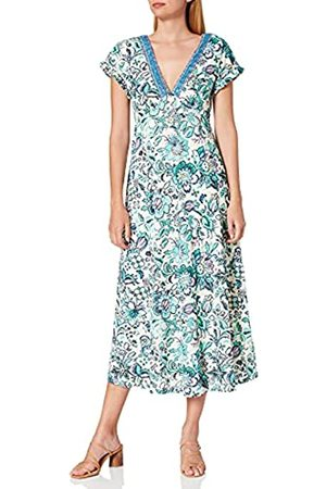 Springfield Damen Vestido CENEFA ESCOTE Kleid