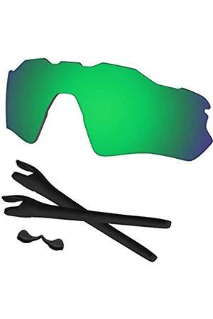 Predrox Radar EV Path Linsen und Gummikits Ersatz für Oakley Sonnenbrille OO9208 polarisiert