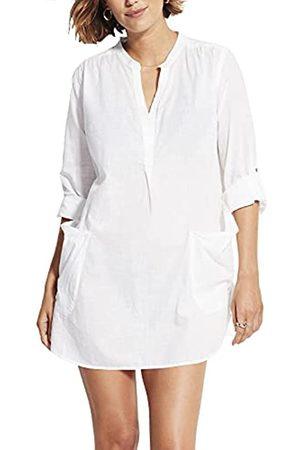 Seafolly Damen Strandmode - Damen Boyfriend Shirt Cover Up Bademodeüberzug