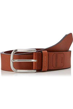 Brax Herren Style Masterpiece Büffelleder Uni Schließe American Silver G rtel