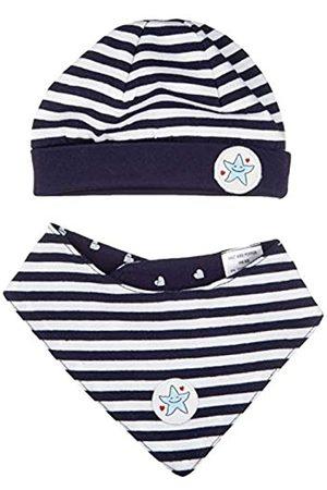 Salt & Pepper Baby-Mädchen Seaside Hat-Scarf Stripes Set