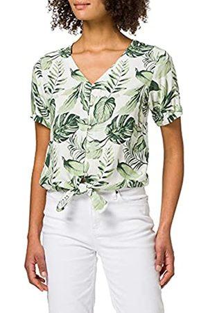 Timezone Damen Shirts - Damen Printed Knot Blouse Bluse