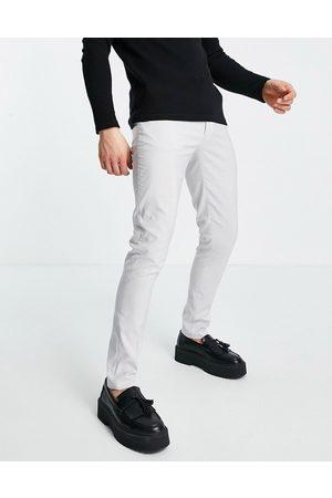 ASOS DESIGN – Schmal geschnittene elegante Hose in Flieder, Kombiteil-Lila