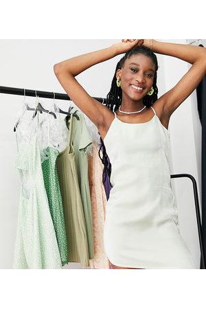 Daisy Street – Mini-Camisole-Kleid in schimmernder Optik