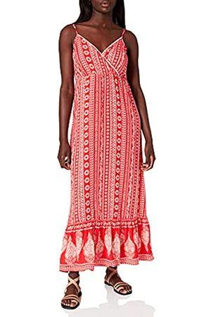 Springfield Damen Vestido Largo Micro Kleid