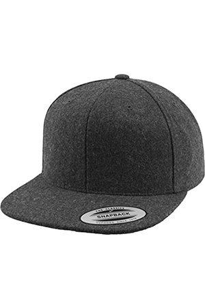 Flexfit Uni Melton Wool Snapback Mütze