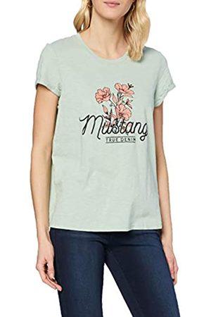 Mustang Damen Shirts - Damen Alina C Print T-Shirt