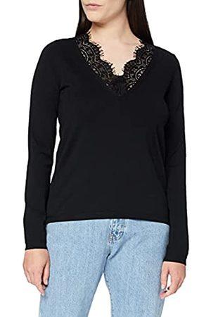 Daniel Hechter Damen V Neck Lace Jumper Pullover