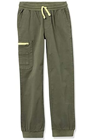 Amazon Woven Zip-Pocket Cargo Jogger Pants