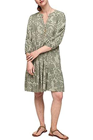 s.Oliver Damen Bedruckte Kleider - Damen Tunikakleid mit Allover-Muster 38
