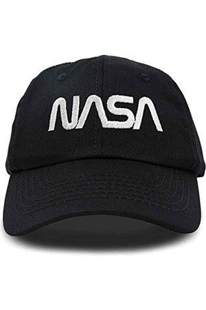 DALIX NASA Mütze Baseball Cap Washed Cotton Embroidered Logo Pigment Dyed - - Einheitsgröße