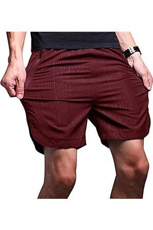 LTIFONE Herren-Shorts, schnelltrocknend, für Workout, Training, Laufen, vertikale Streifen