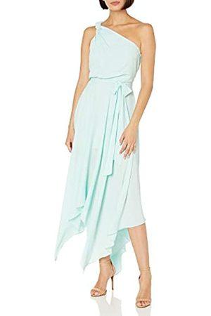 Halston Heritage Damen Braided Strap Gown Formales Kleid