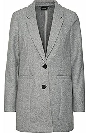 VERO MODA Female Mantel Lang Slight Grey Melange