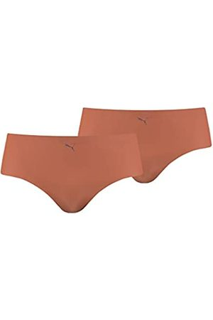 PUMA Womens Women's Seamless (2 Pack) Hipster Panties